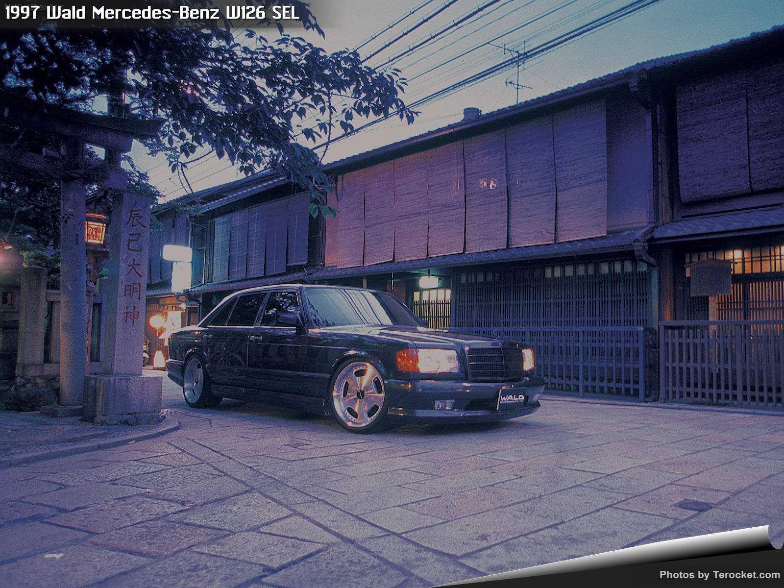 Hình ảnh xe độ Wald Mercedes-Benz W126 SEL 1997 & nội ngoại thất