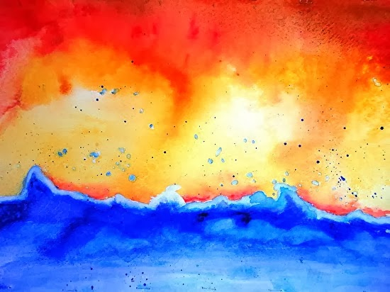 Daily Painters of California: Abstract Seascape ...