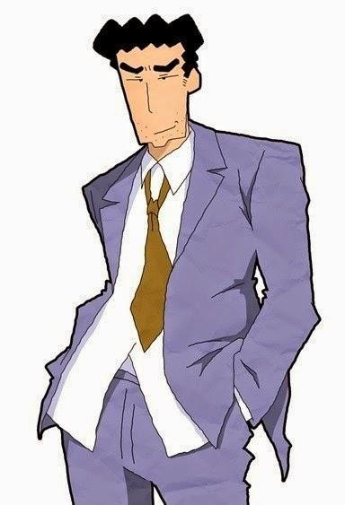 Ayah Shinchan terpilih menjadi karakter ayah paling favorit di Jepang