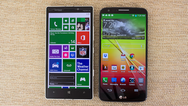 Nokia Lumia Icon vs. LG G2