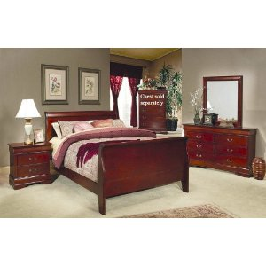 Again, this set includes the two drawer nightstand, not the three drawer  nightstand I pictured above. Also note the different style mirror with the  double ...