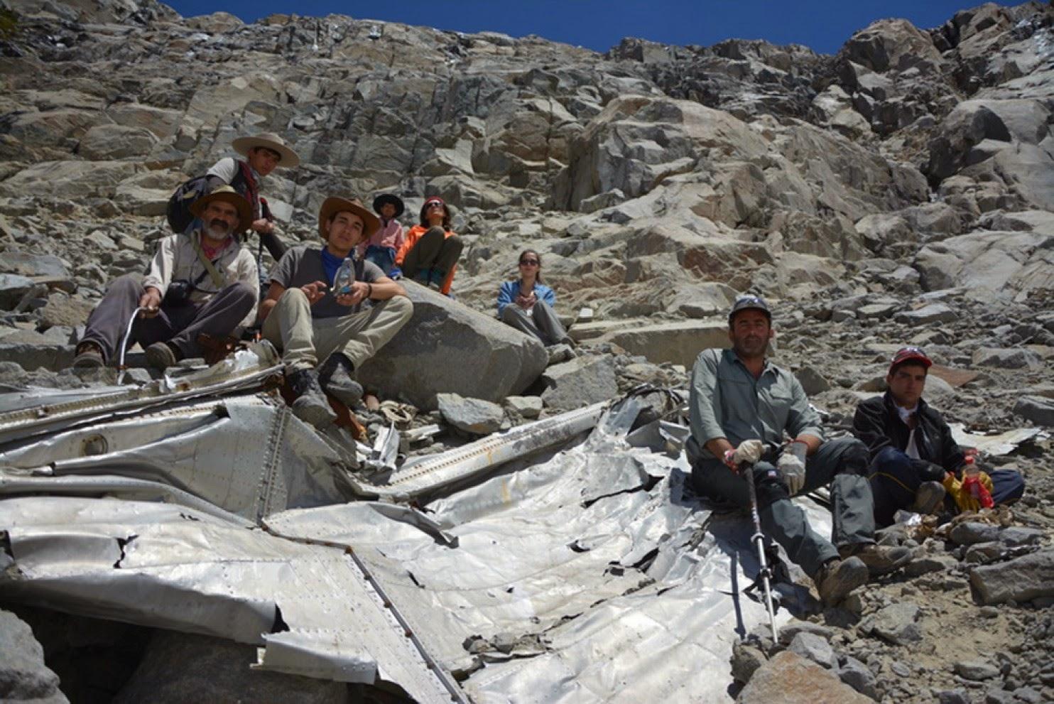 Penemuan bangkai sebuah pesawat yang hilang lebih daripada 50 tahun lepas