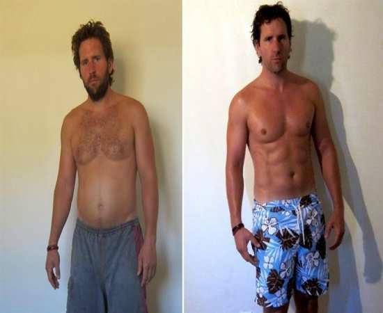 Perder o peso durante 2 semanas para carregar