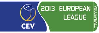 VOLEIBOL-Liga europea 2013