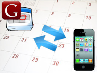 Synchronizing Yahoo and Google Calendar in iPhone