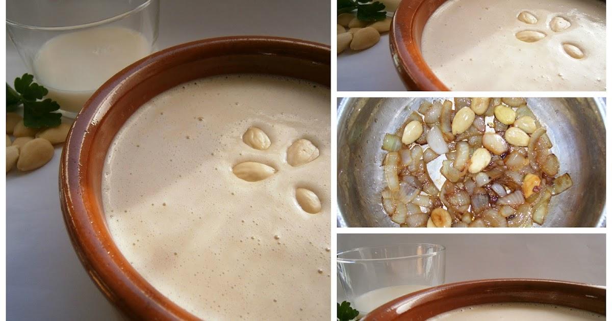 Quitahambres salsa de nata con cebolla y almendras - Salsa de tomate y nata ...