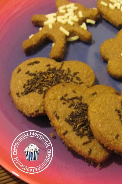 biscottini di farina integrale e nutella