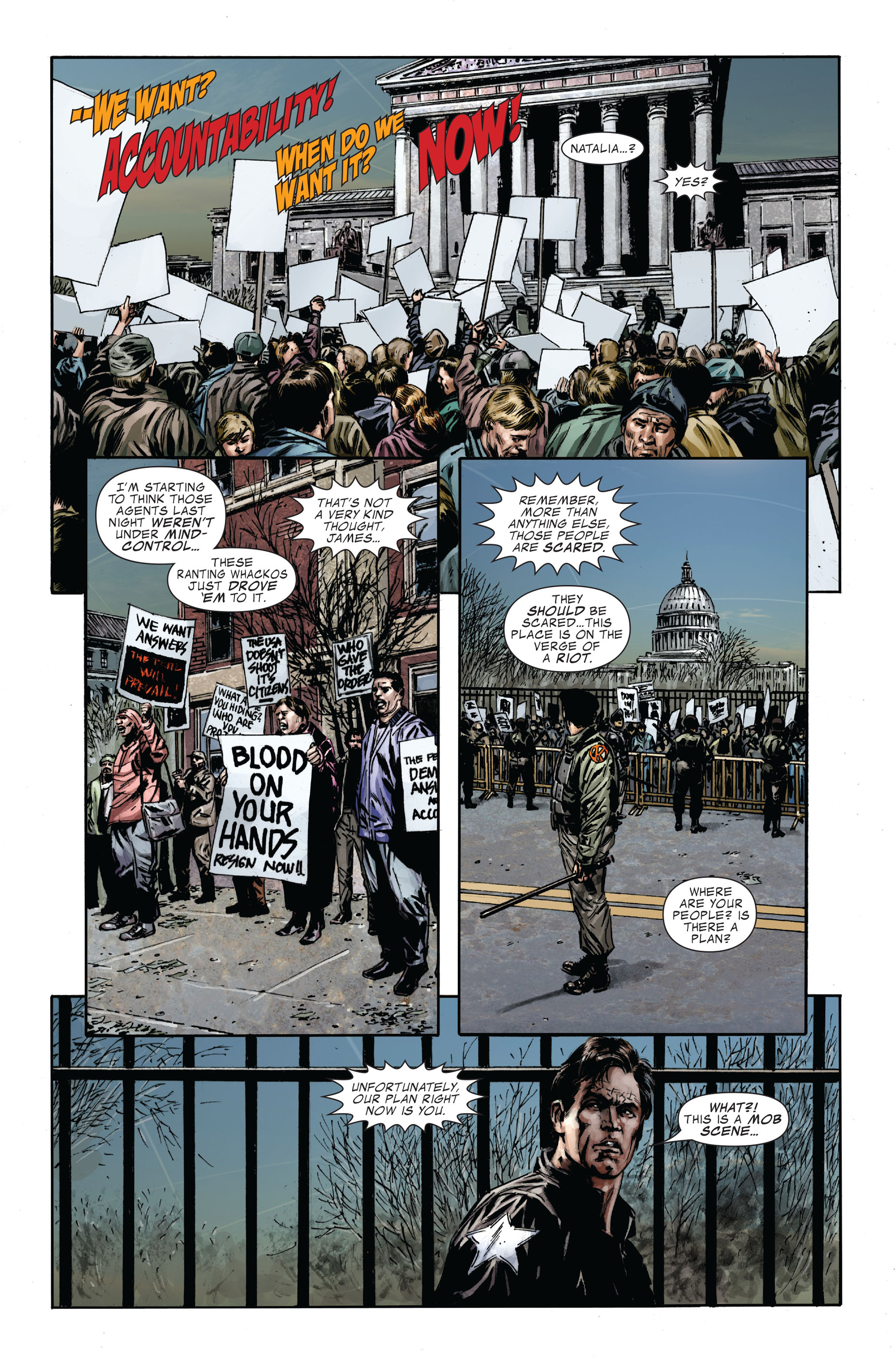 Captain America (2005) Issue #35 #35 - English 7