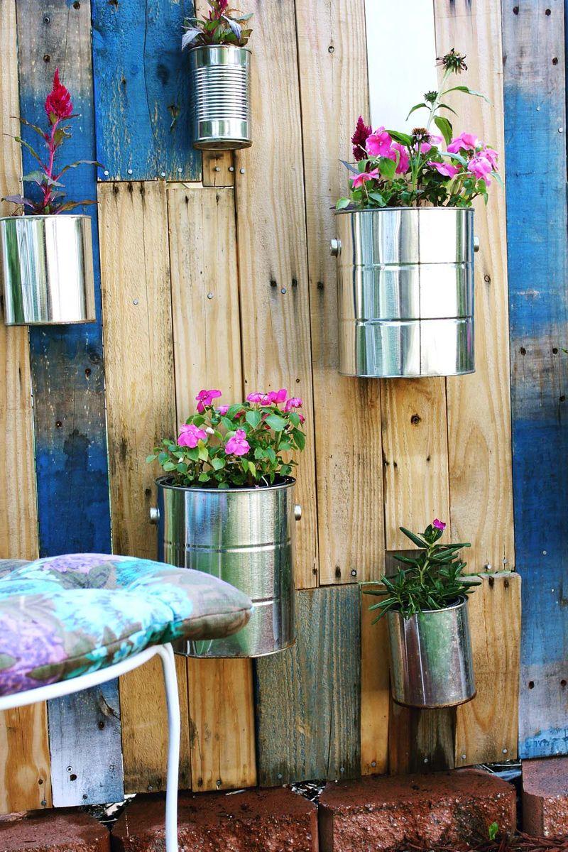 jardim vertical latas:Jardim vertical COPY & PASTE
