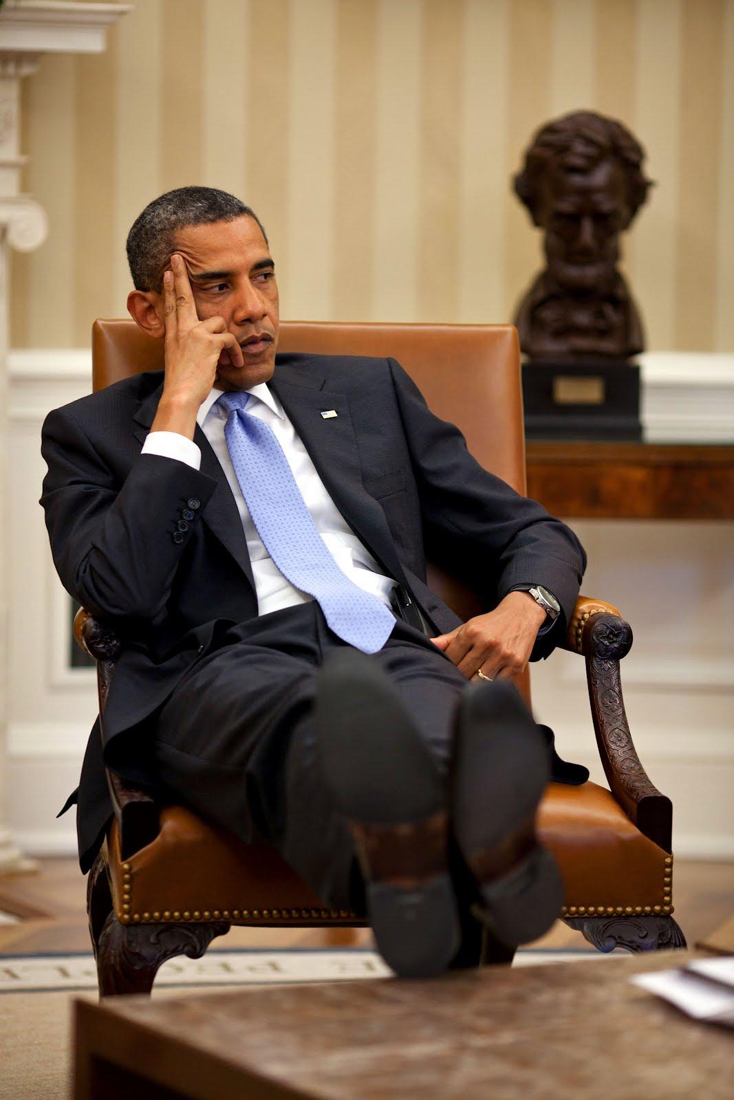 no comments barack obama oval office