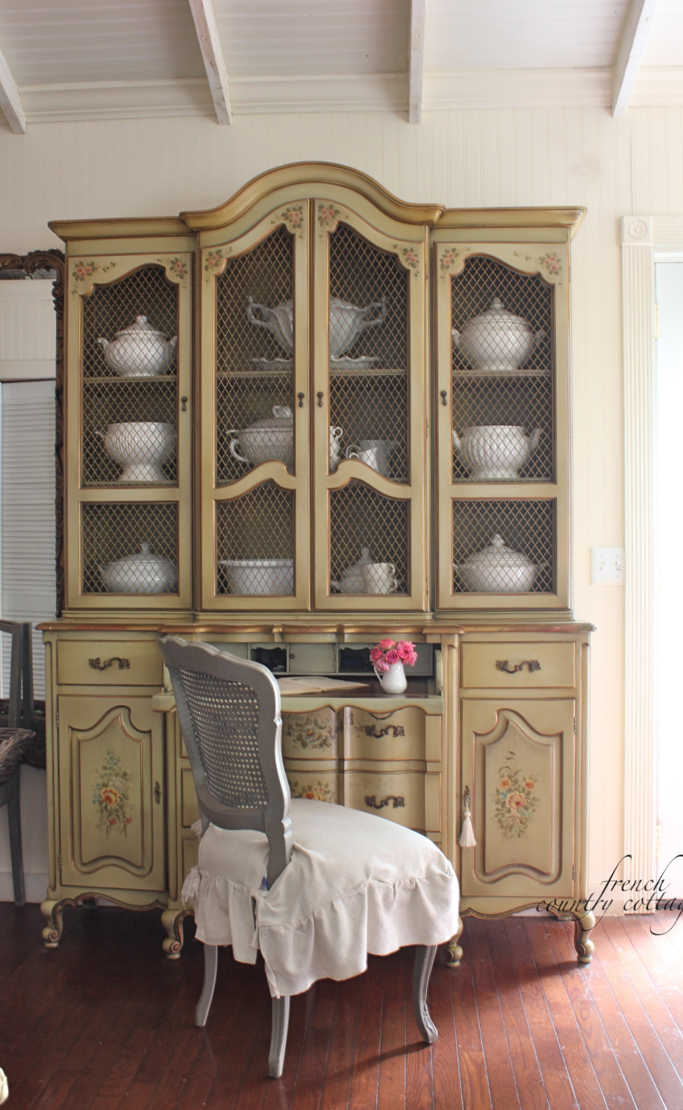 French country china cabinets - French Country China Cabinets 21