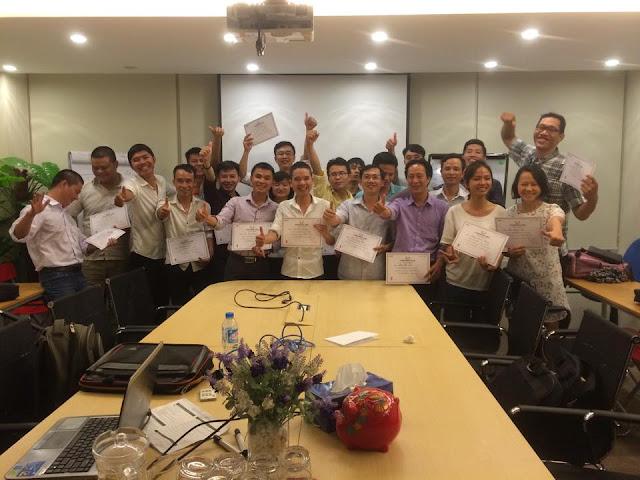 Học viên được cấp chứng chỉ khi kết thúc khoá đào tạo seo K44