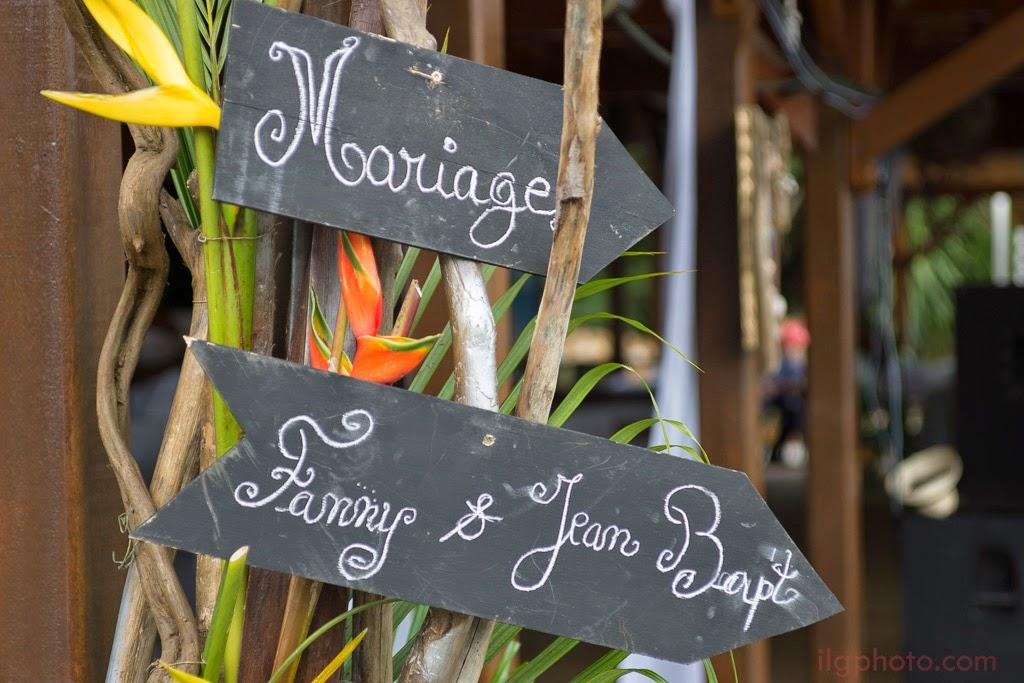Pancartes du mariage