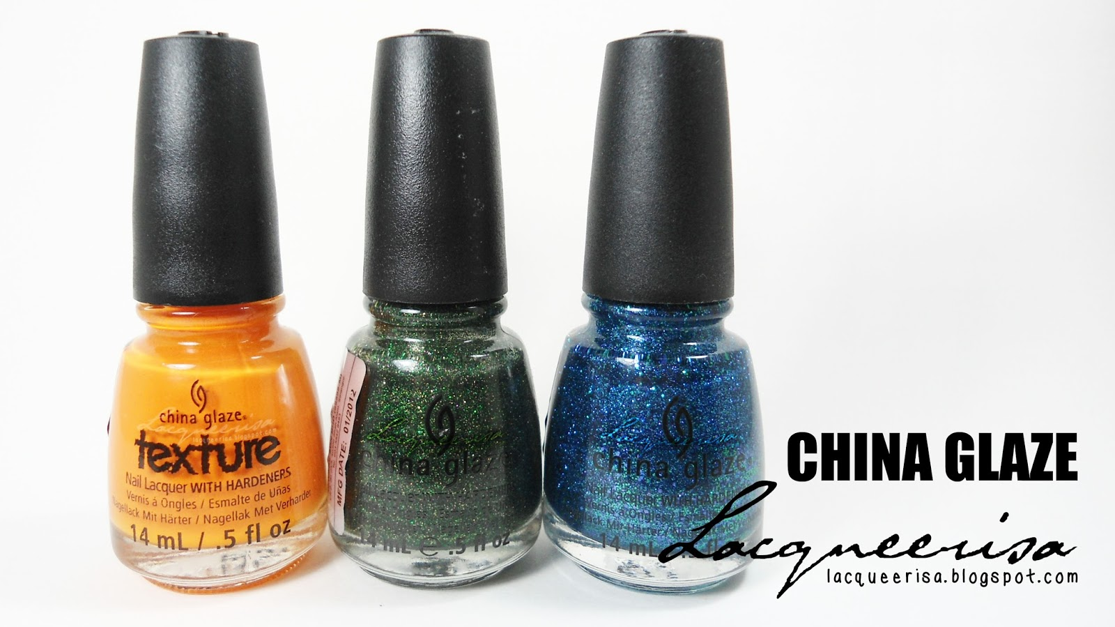 Lacqueerisa: China Glaze Nail Polishes