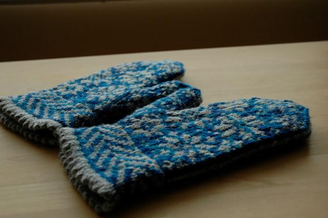 Snowfling mitts
