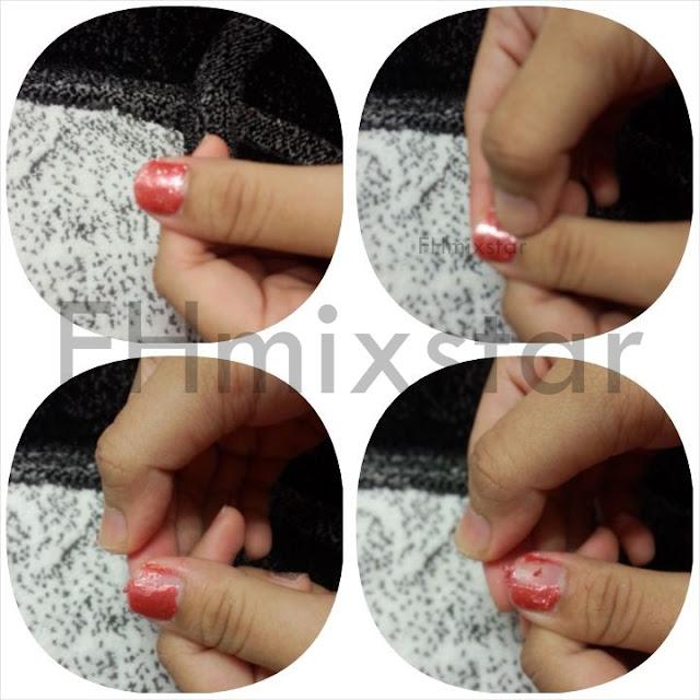 nail polish peel off