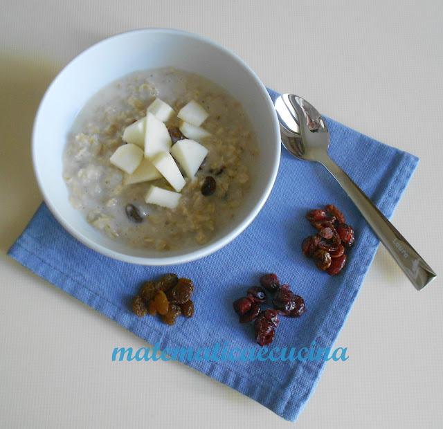 porridge per una colazione sana e nutriente