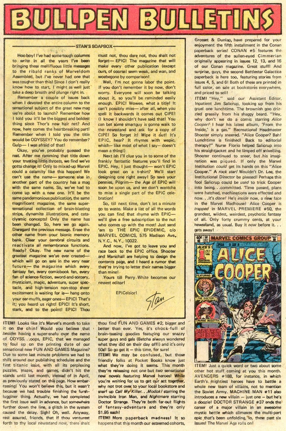 Conan the Barbarian (1970) Issue #103 #115 - English 19