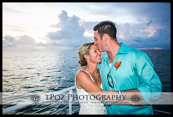 Key West Destination Wedding Fury Catamaran Sunset Cruise Wedding Reception