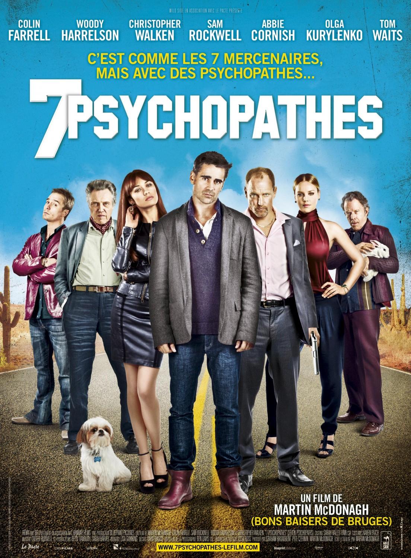 Siete psicópatas (Seven Psychopaths) (2012)