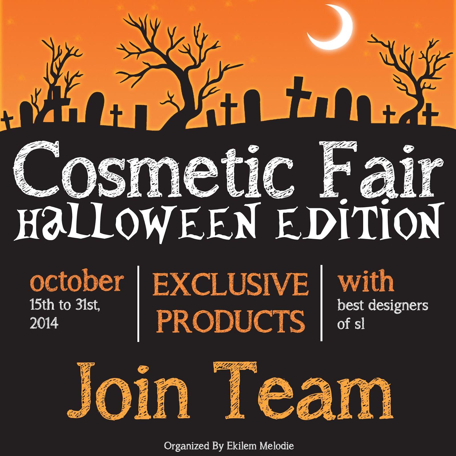 Cosmetic Fair Halloween Edition