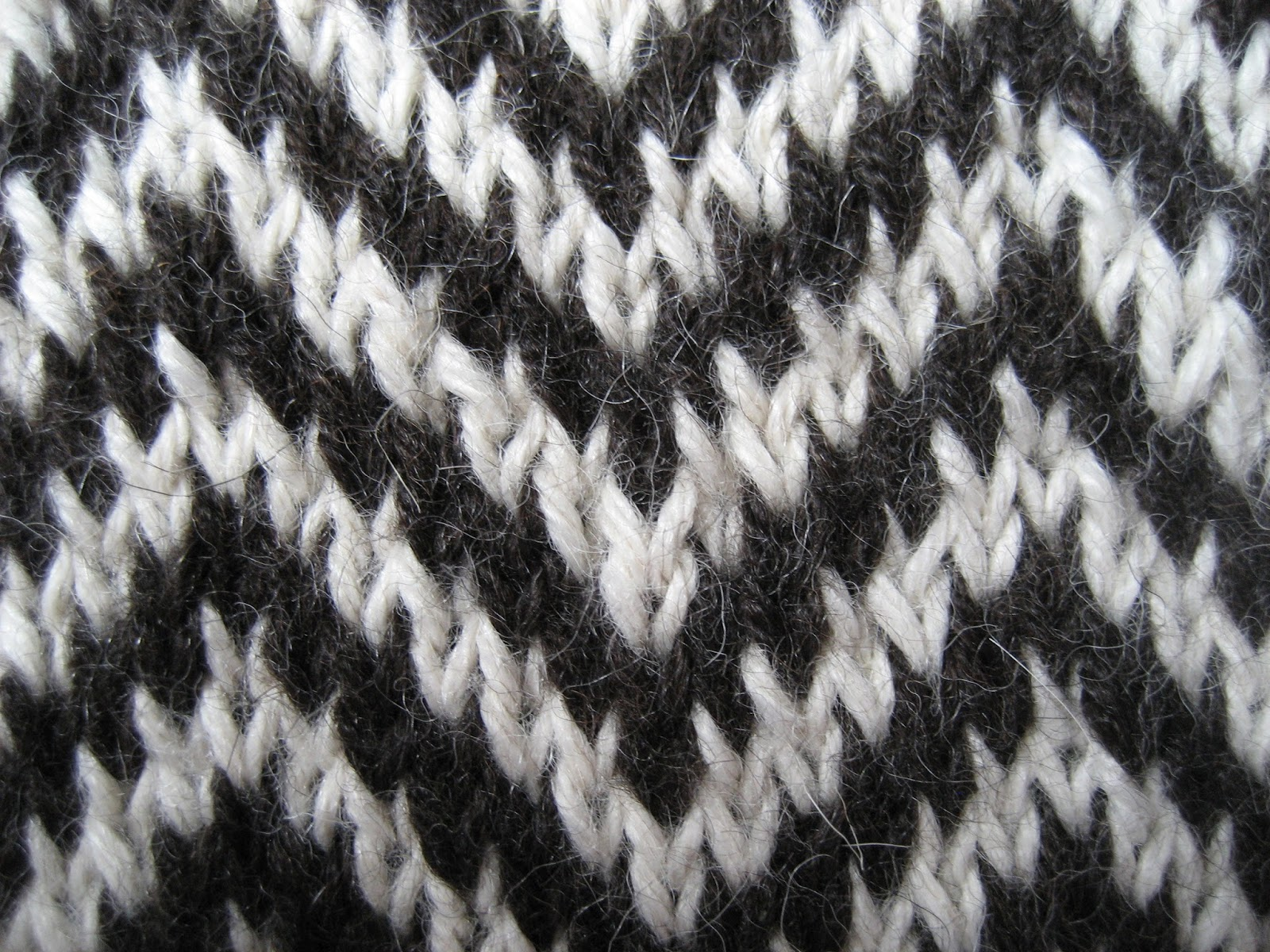 Houndstooth Knitting Pattern : Carolyn Knits: Tartan Mitts Spark