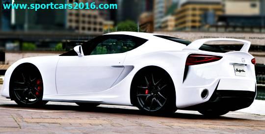 New Toyota Supra Turbo