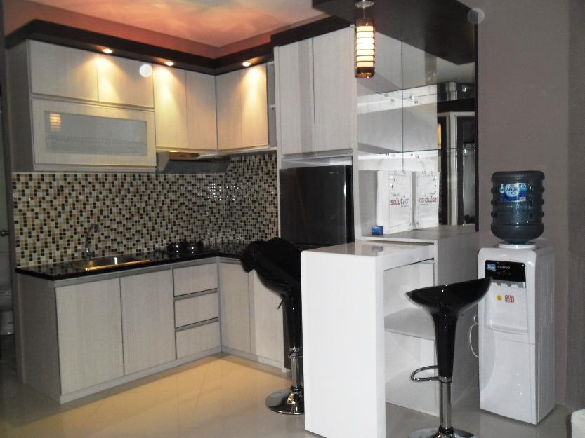 Kitchen set minimalis for Interior apartemen studio