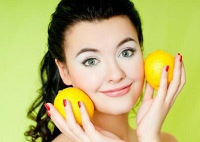وصفات الليمون للقضاء على بقع البشرة