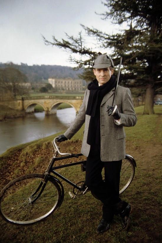 "Chatsworth House as Holdernesse Hall in ""The Priory School"" with Jeremy Brett"