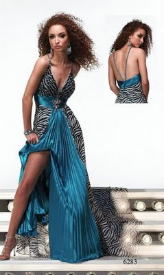 Designer Prom Dress on Zebra Print Prom Dress Designer Prom Dresses Sale Print Formal Gowns