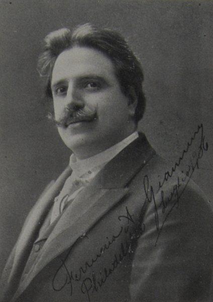 ITALIAN TENOR FERRUCCIO GIANNINI (1868 - 1948) CD