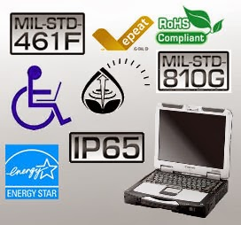 Toughbook CF-31 certifications
