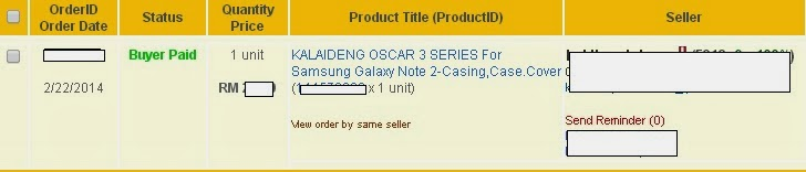 KALAIDENG OSCAR 3 SERIES For Samsung Galaxy Note 2