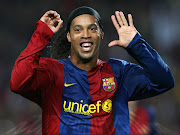 He spent his career with PSG, Barcelona, Milan and then he moved to Brazil . (ronaldinho in action)