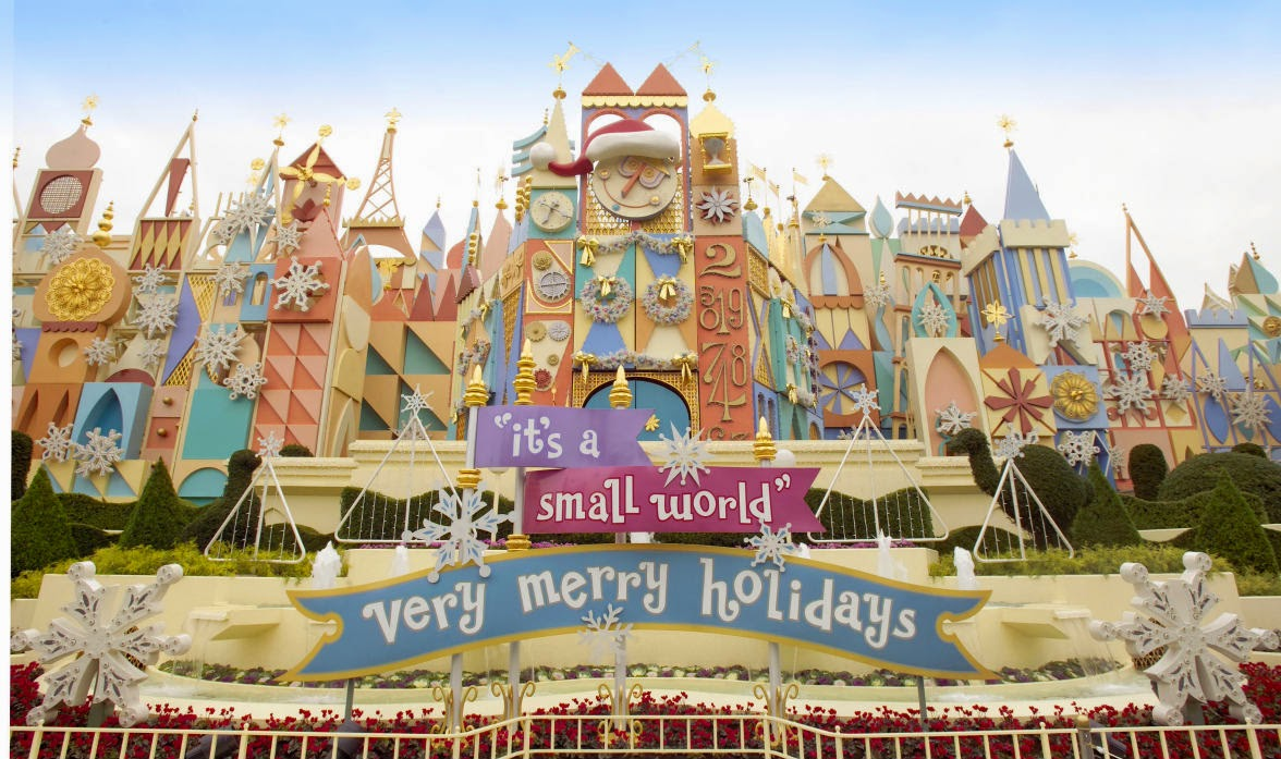 tdr情報: ディズニーランドクリスマス限定のイッツ・ア・スモール