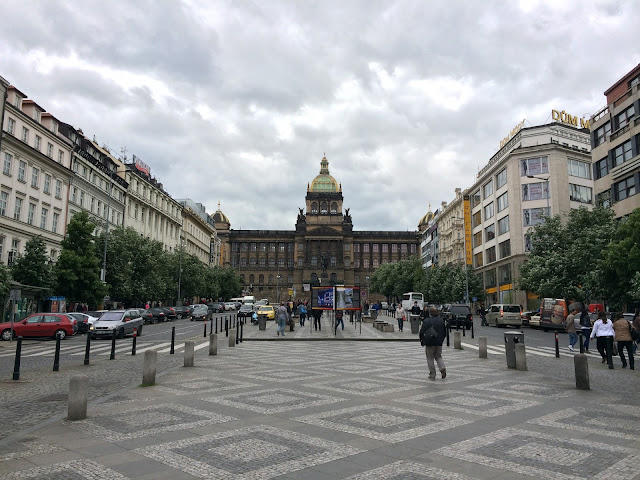 wisata, traveling, Prague, Czech Republic, Wenceslas Square