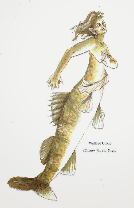 Mermaid by artist Jenny Mathews
