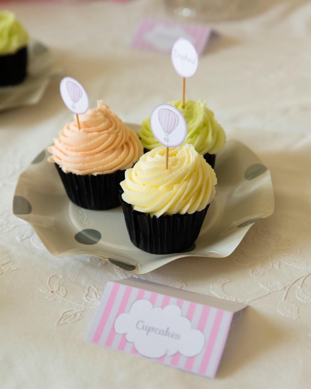 cupcakes crème au beurre