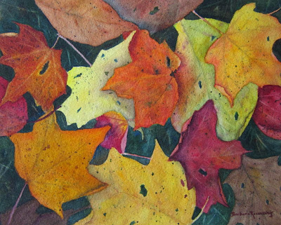 https://www.etsy.com/listing/167864029/autumn-leaves-art-print-painting-of?