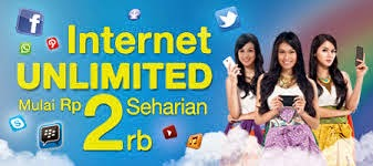 paket internet unlimited xl