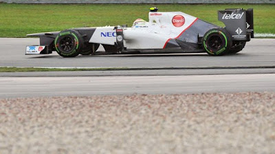 Formule 1, Maleisië, Perez tweede plaats