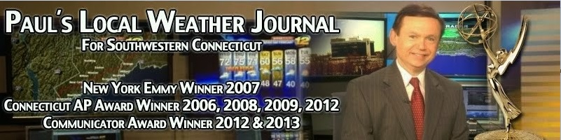 Paul's Local Weather Journal