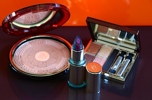 clarins collection maquillage été 2013 splendours avis test swatch