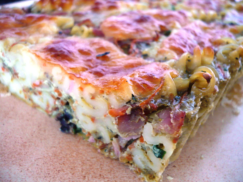 Tortilla aux p tes fa on taganu sicilienne blogs de cuisine - Blog cuisine sicilienne ...