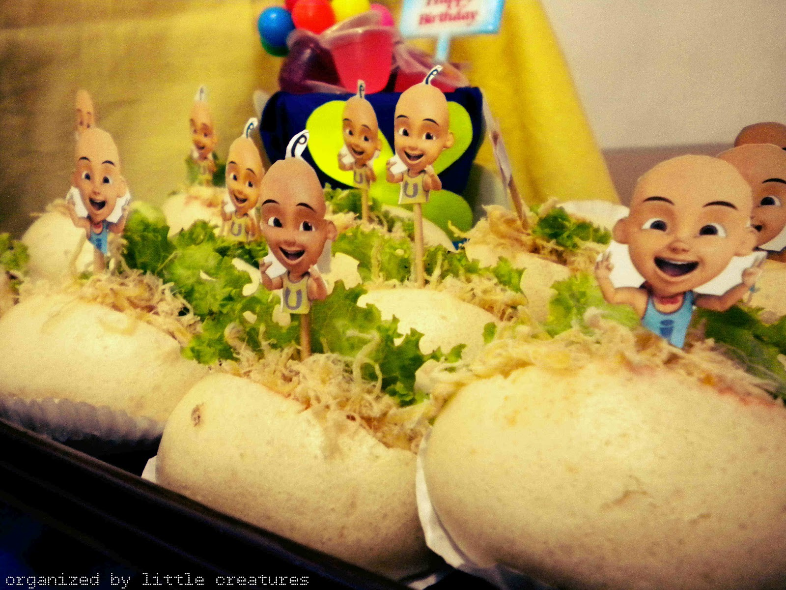 Little creatures avicennas upin ipin birthday party cookies by cindy selo adji stopboris Image collections