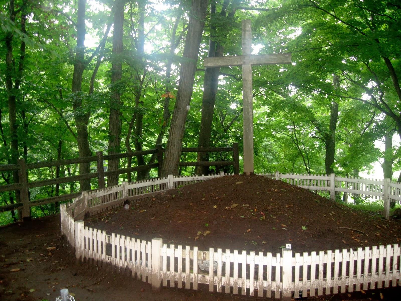 Lugar donde está enterrado Jesús en Japón