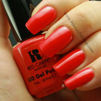 Red Carpet Manicure Gel Polish Ooo La Licious Swatch