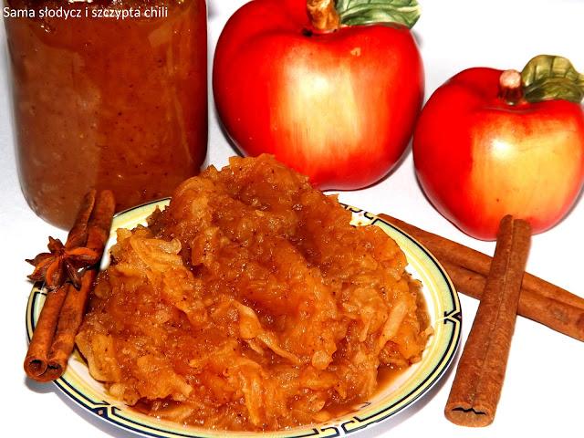 Tarte zasmażane jabłka do słoików .