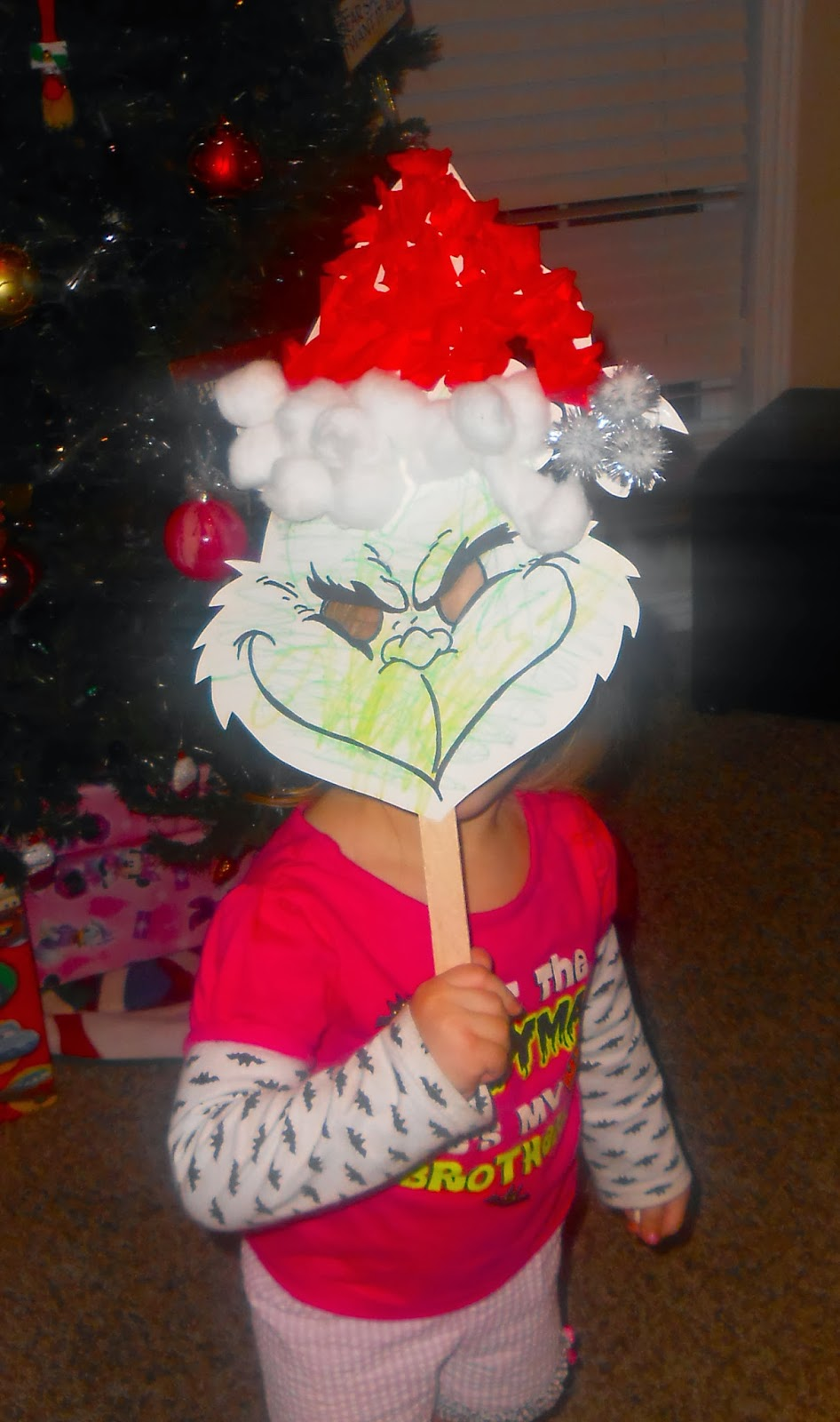 Grinch Face Printable Grinch mask
